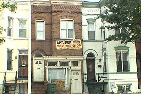 One bedroom apartment replacing former tattoo parlor in for Georgetown tattoo shops