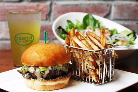 Kraze Burgers plans to compete with American fast-food heavyweights in their own turf.
