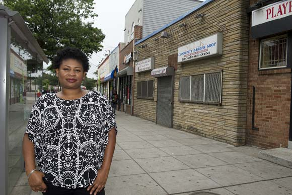 Nikki Peele, a five-year Congress Heights resident, really wants to see more retail in her neighborhood