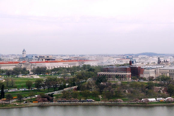 Flat, flat, flat: D.C.'s skyline as it is now