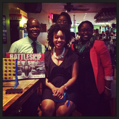 Capital Cause members at a Game Night for charity at Cause Philanthropub in Shaw