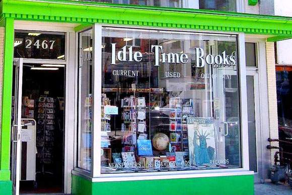 Idle Time Books in Adams Morgan was visited by a Cash Mob earlier this year