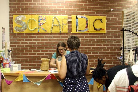 SCRAP DC, D.C.'s own creative reuse center, just moved to a larger building in Brookland