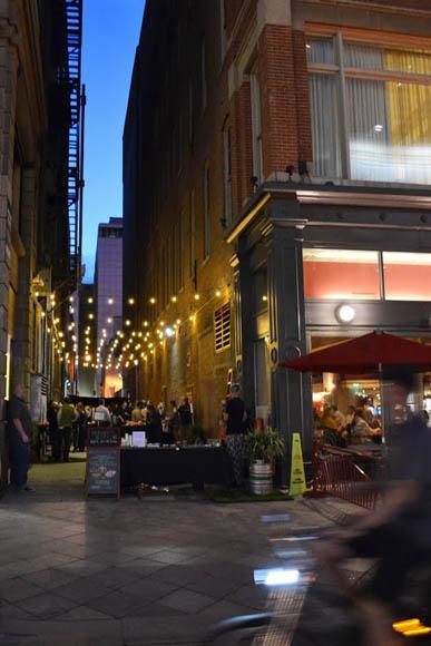 National Spotlight Alleyways Become Pathways To Urban
