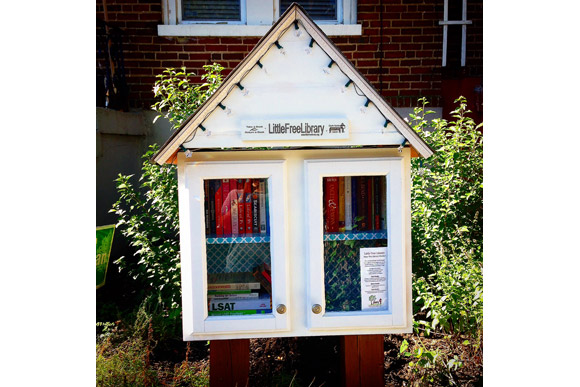 Little Free Library in Edgewood