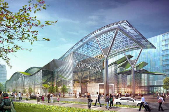The Master Plan for Union Station calls for the station looking like this in the future