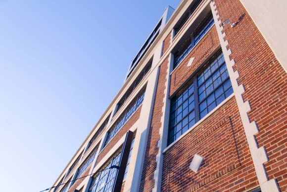 Foundry Lofts apartments, a converted industrial building