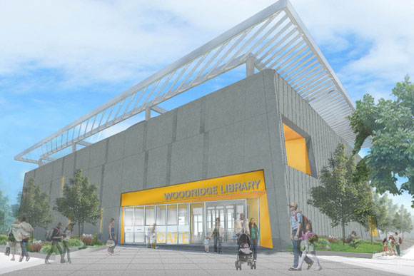 Woodridge Library Designs Tweaked To Feature More Light Color