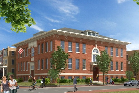 Rendering of Edmonds  School condominium building