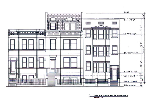 The six-unit apartment is planned for the heart of Shaw
