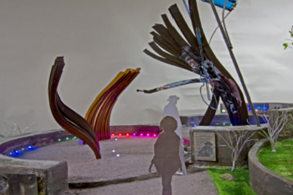 """Wind Me Up, Chuck"" by Jackie Braitman, one of three proposed public art projects for Chuck Brown Park"