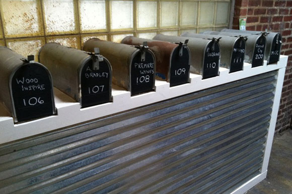 Mailboxes for each tenant