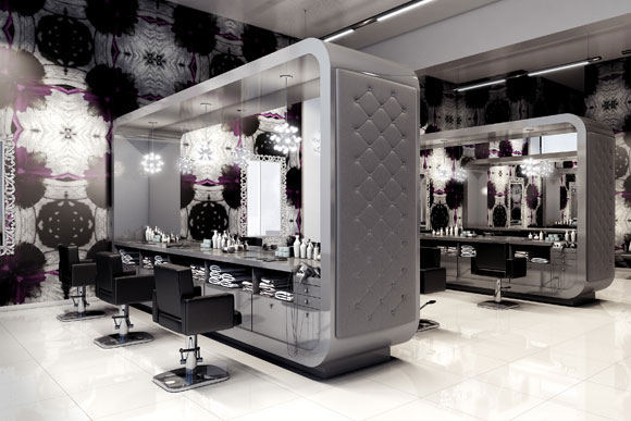 Check out bang salon 39 s futuristic renderings for its for 4th street salon
