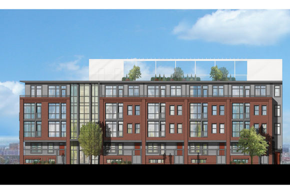 Preliminary plan for the Capitol Hill Condos