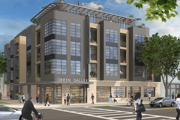 Five Story Building Coming To End Of H St Ne Breaks