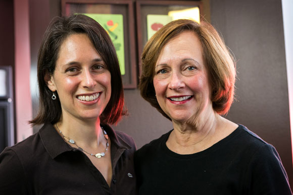 "Sara ""Soupergirl"" Polon, and her mother, Marilyn Polon"
