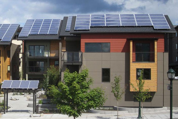 The Zhome, a ten-unit sustainable project in Washington state, may provide a hint of what is to come in D.C.